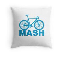 Fixie Mash Bike Throw Pillow