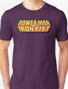 Power Man & Iron Fist - Classic Title - Clean T-Shirt