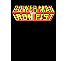 Power Man & Iron Fist - Classic Title - Clean Photographic Print