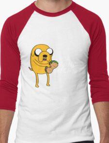 I wish for a sandwich Men's Baseball ¾ T-Shirt