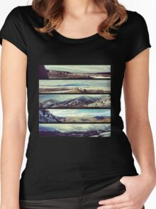 Elevations Texas to Colorado Women's Fitted Scoop T-Shirt