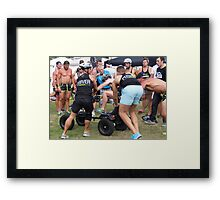 Torquay Charity Pedal Car Race Framed Print