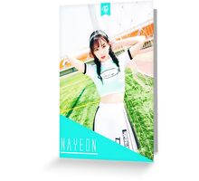 Twice Cheer up NaYeon Greeting Card