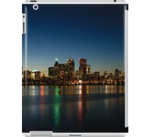 Blue Hour - Toronto's Dazzling Skyline Reflecting in Lake Ontario iPad Case/Skin