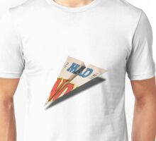 MAD Paper Airplane 147 Unisex T-Shirt