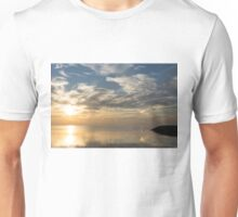 Blinding Bright Sunrise with a Sundog Unisex T-Shirt