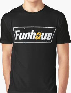 Fallout 4 | Funhous | Logo | Black Background | High Quality! Graphic T-Shirt