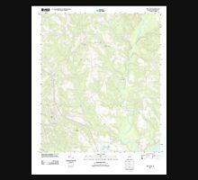 USGS TOPO Map Alabama AL Red Level 20110926 TM Unisex T-Shirt