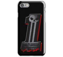 Dark Custom no 1 Harley Davidson iPhone Case/Skin
