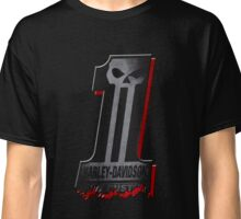 Dark Custom no 1 Harley Davidson Classic T-Shirt