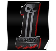 Dark Custom no 1 Harley Davidson Poster
