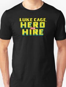 Luke Cage: Hero For Hire - Classic Title - Clean T-Shirt