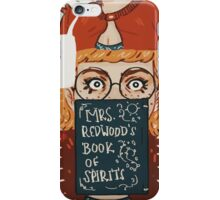 PRC Mrs Redwood iPhone Case/Skin