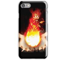 Holding Fire  iPhone Case/Skin