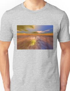 HYPERION WORLD /ALIEN SEASCAPE SKY AND CLOUDS  Sci-Fi Unisex T-Shirt