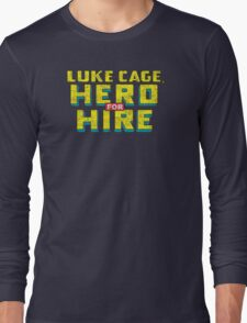 Luke Cage: Hero For Hire - Classic Title - Dirty T-Shirt