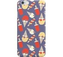 Lets split strawberry splits and ice creams iPhone Case/Skin