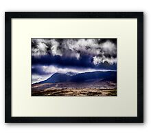 Day in the Mountains Framed Print