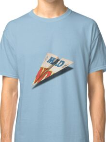 MAD Paper Airplane 147 Pattern Classic T-Shirt