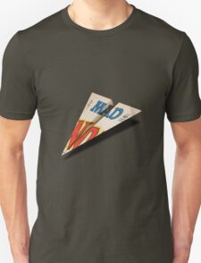 MAD Paper Airplane 147 Pattern T-Shirt