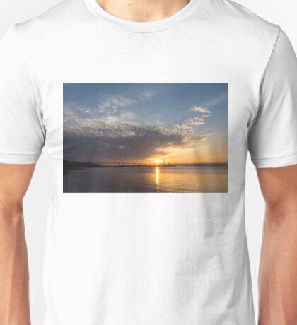Brilliant Toronto Skyline Sunrise Over Lake Ontario Unisex T-Shirt