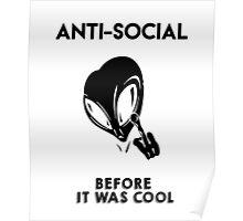 Anti-Social Alien Poster