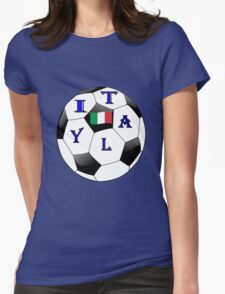 ITALY SOCCER Womens Fitted T-Shirt
