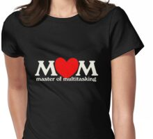 MOM master of multitasking Womens Fitted T-Shirt