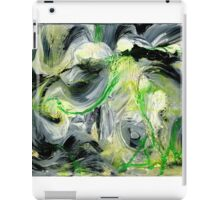 Green Water Cave - Original acrylic painting on Canvas  iPad Case/Skin