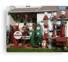 Front Yard Gas Canvas Print