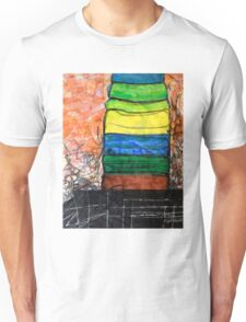 Piled Color Unisex T-Shirt