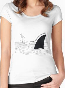 Bigger Boat Women's Fitted Scoop T-Shirt