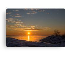 -15 C° Sunrise Canvas Print