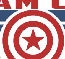 PLEASE SUPPORT TEAM CAP Sticker
