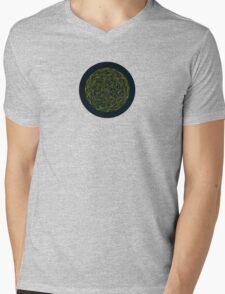 Sphere, White. Mens V-Neck T-Shirt
