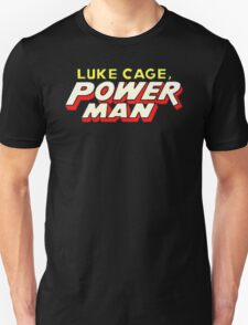 Luke Cage: Power Man - Classic Title - Clean Unisex T-Shirt