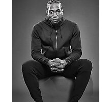 Kawhi Modelling Fashion Clothes Photographic Print