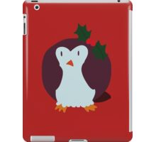 Mistle Toe Penguin iPad Case/Skin