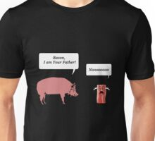 Bacon, I am your farther! - Star Wars Parody Unisex T-Shirt