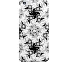 Black and white seamless floral pattern.  iPhone Case/Skin