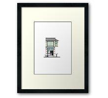 Penang Restaurant Framed Print