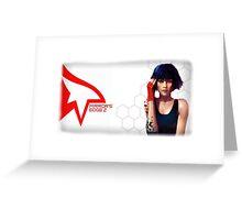 Mirrors Edge 2 Greeting Card
