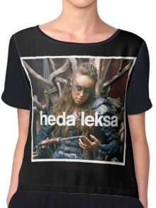 The 100 - Heda Leksa Chiffon Top