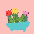 cacti bouquet by Berlyn Hubler