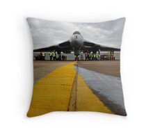 The Vulcan bomber Throw Pillow