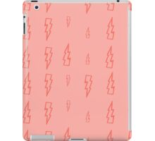 pink lightning iPad Case/Skin