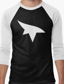 Mirrors Edge Minimalist Logo -White Men's Baseball ¾ T-Shirt