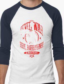 Hey, everyone! Men's Baseball ¾ T-Shirt