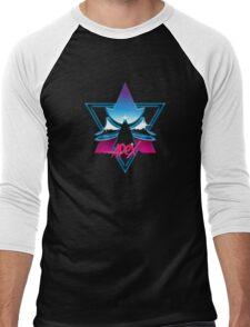 Apex Chrome | Black Background | High Quality! Men's Baseball ¾ T-Shirt