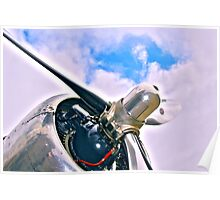 DC 3 Propellor Poster